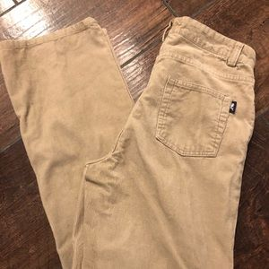 Vineyard Vines Beige Brown Corduroy Boys Pants